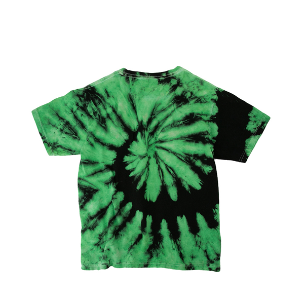 alternate view Goosebumps Tee - Little Kid / Big Kid - Green / Black Tie DyeALT1