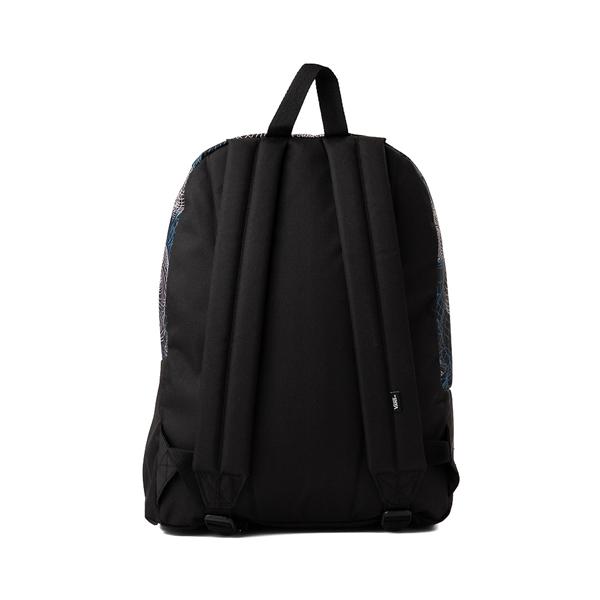 alternate view Vans Old Skool Wire Skull Backpack - BlackALT1
