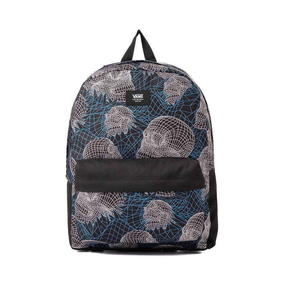 Vans Old Skool Wire Skull Backpack - Black