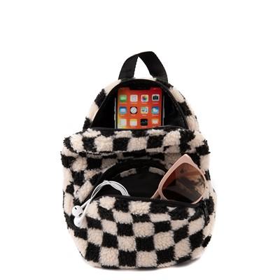 Alternate view of Vans Black Sheep Checkerboard Mini Backpack - Black / White