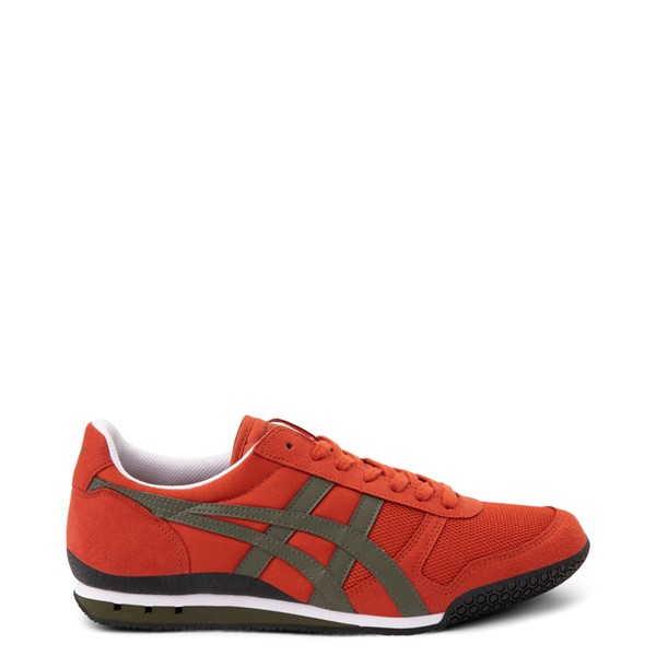 Main view of Mens Onitsuka Tiger Ultimate 81 Athletic Shoe - Rust Red / Bronze