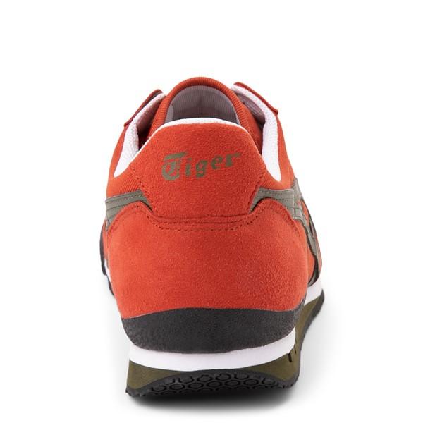 alternate view Mens Onitsuka Tiger Ultimate 81 Athletic Shoe - Rust Red / BronzeALT4