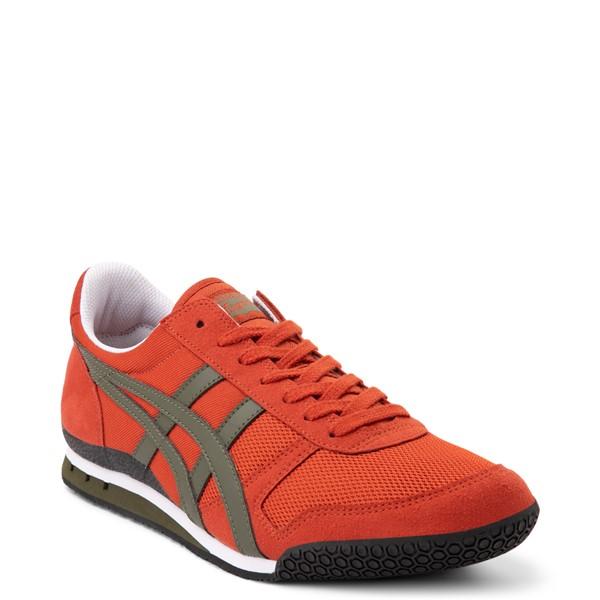 alternate view Mens Onitsuka Tiger Ultimate 81 Athletic Shoe - Rust Red / BronzeALT5