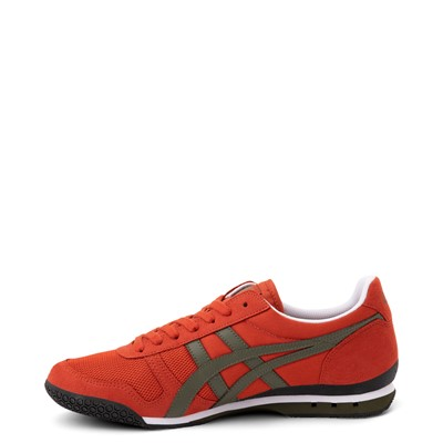 Alternate view of Mens Onitsuka Tiger Ultimate 81 Athletic Shoe - Rust Red / Bronze