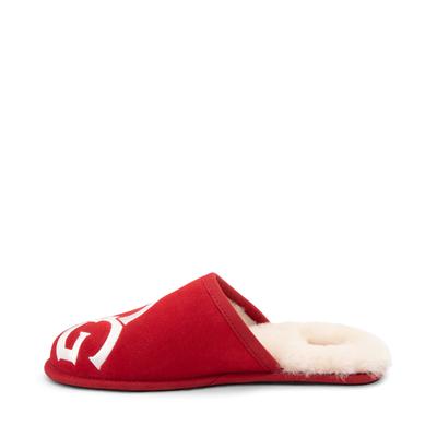 Alternate view of Mens UGG® Scuff Logo Slipper - Samba Red
