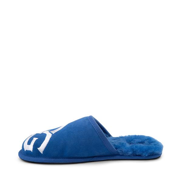 alternate view Mens UGG® Scuff Logo Slipper - Classic BlueALT1