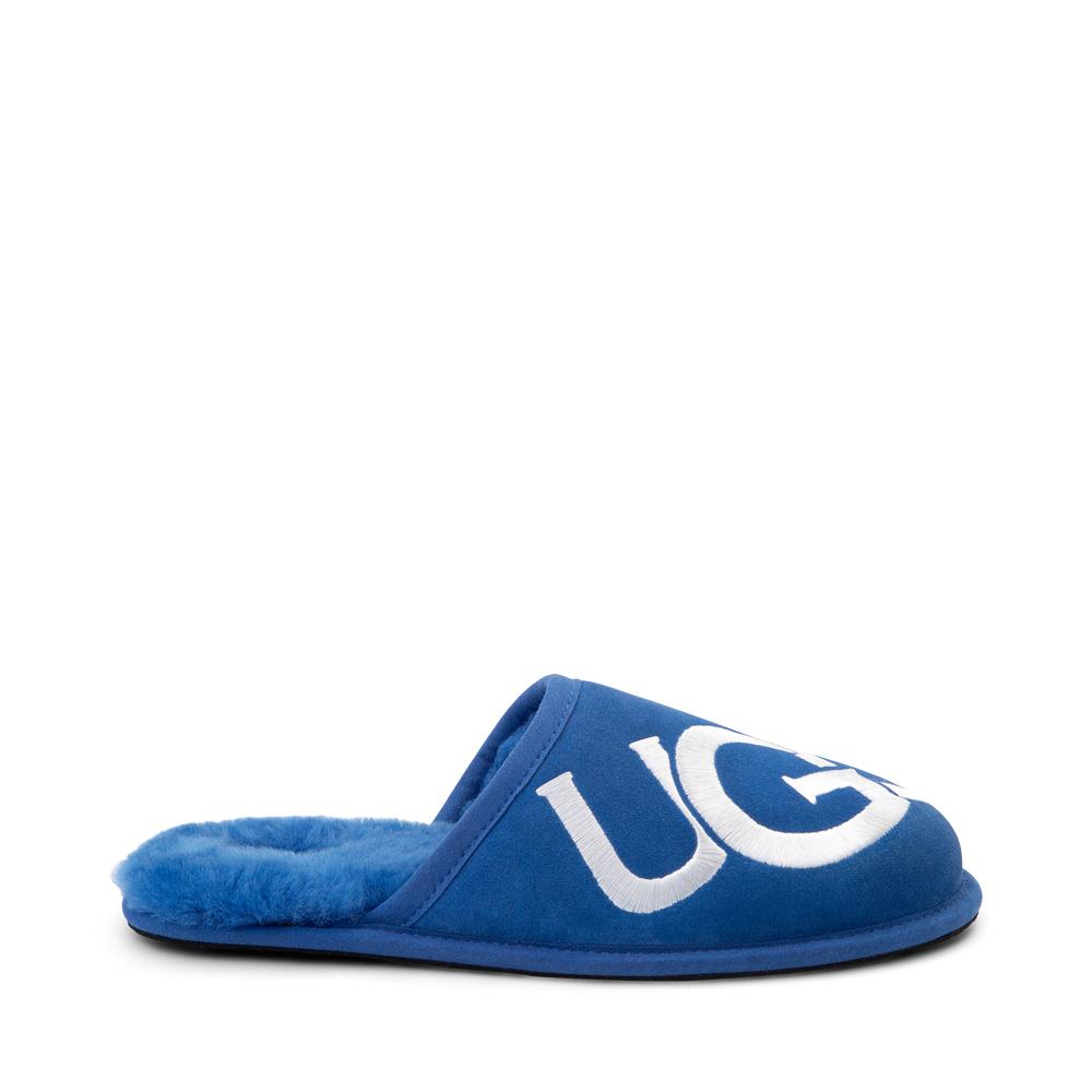 Mens UGG® Scuff Logo Slipper - Classic Blue
