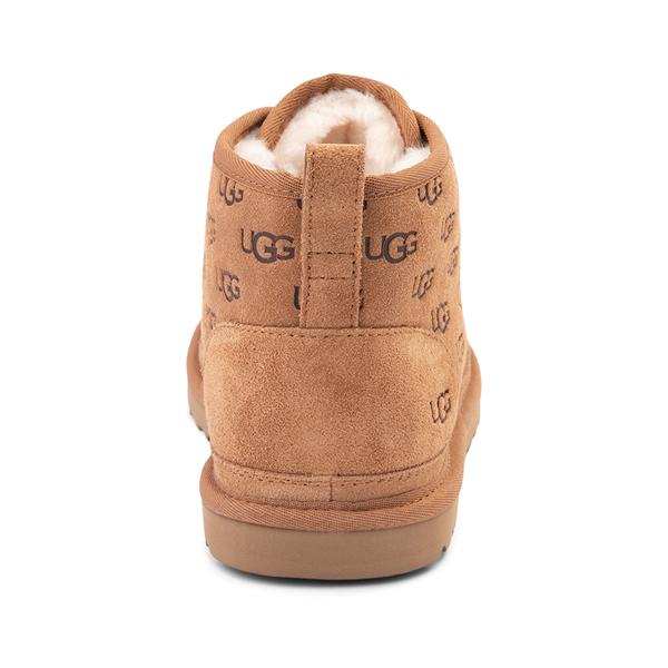 alternate view Mens UGG® Neumel Emboss Casual Shoe - ChestnutALT4