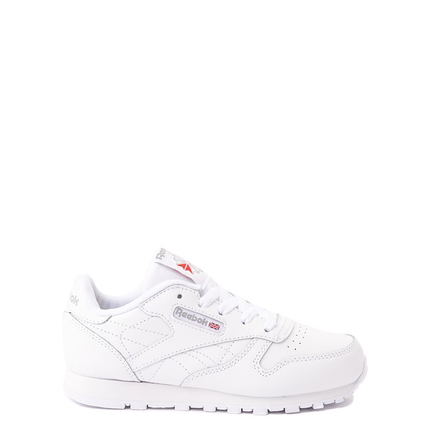 Reebok Classic Athletic Shoe - Little Kid - White / White