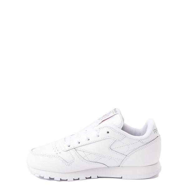 alternate view Reebok Classic Athletic Shoe - Little Kid - White / WhiteALT1