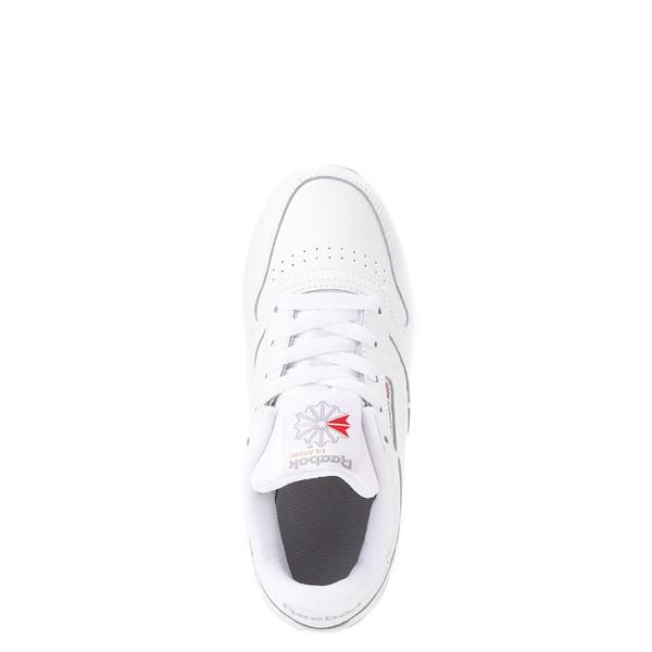 alternate view Reebok Classic Athletic Shoe - Little Kid - White / WhiteALT2