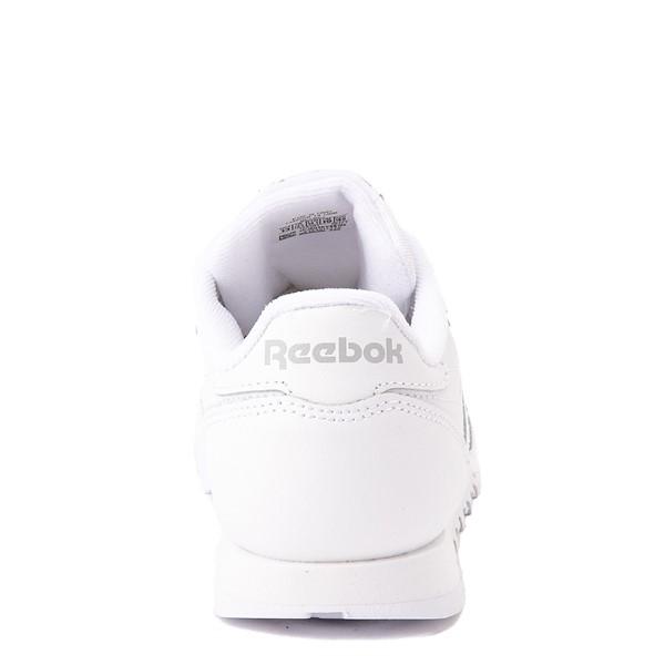 alternate view Reebok Classic Athletic Shoe - Little Kid - White / WhiteALT4