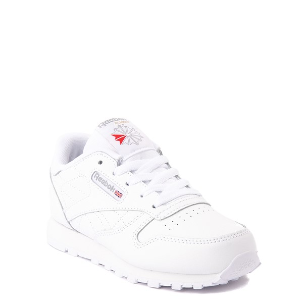 alternate view Reebok Classic Athletic Shoe - Little Kid - White / WhiteALT5