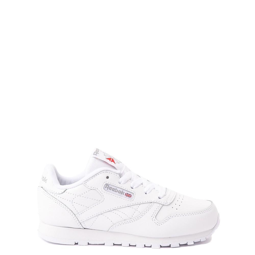 Reebok Classic Athletic Shoe - Little Kid - White / White