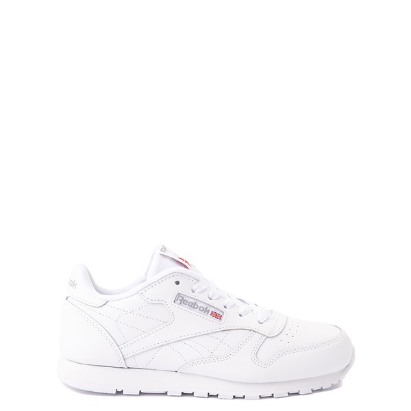 Reebok Classic Athletic Shoe - Big Kid - White / White