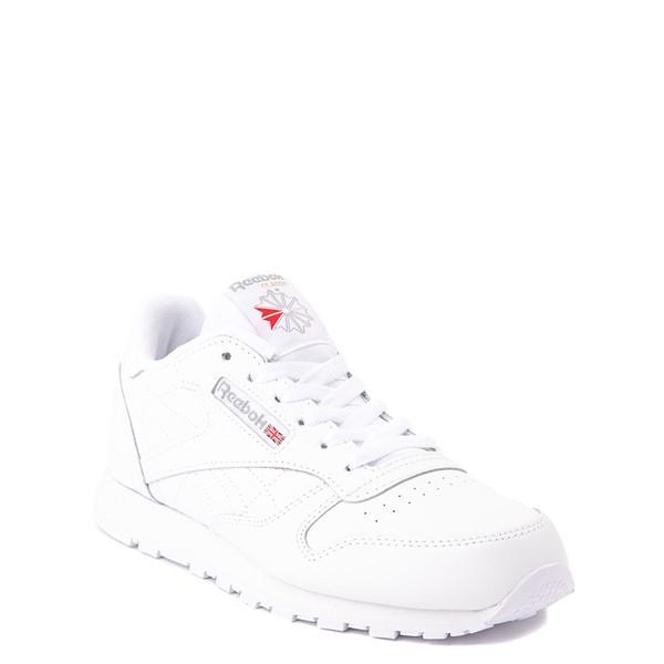 alternate view Reebok Classic Athletic Shoe - Big Kid - White / WhiteALT5