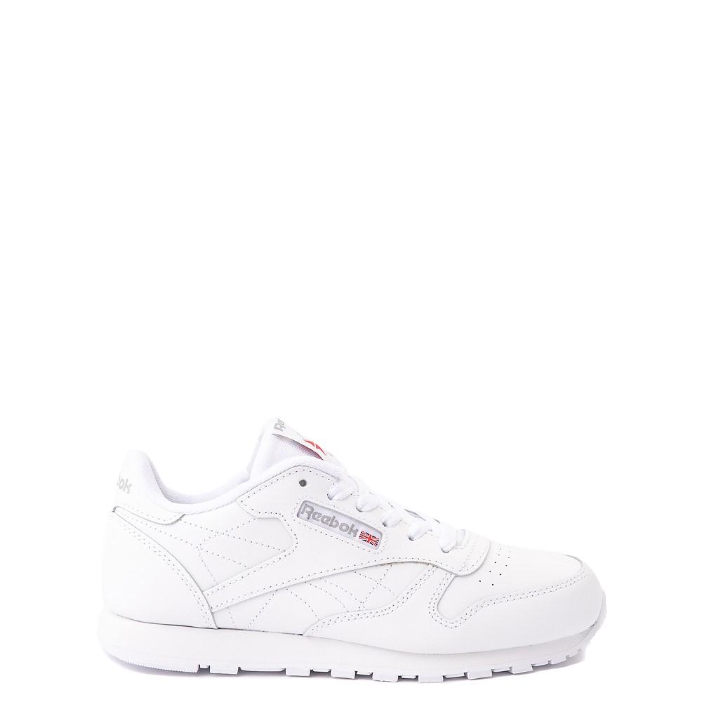 Reebok Classic Athletic Shoe - Big Kid - White / White