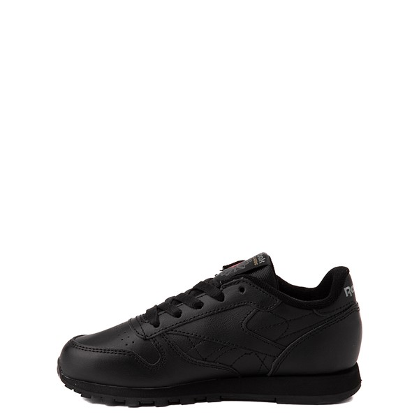 alternate view Reebok Classic Athletic Shoe - Little Kid - Black / BlackALT1