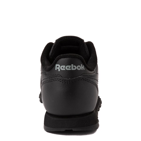 alternate view Reebok Classic Athletic Shoe - Little Kid - Black / BlackALT4