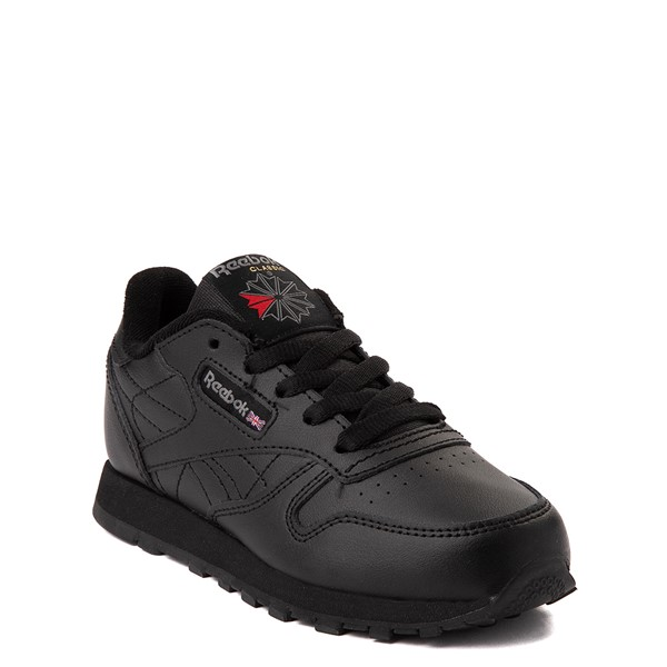 alternate view Reebok Classic Athletic Shoe - Little Kid - Black / BlackALT5
