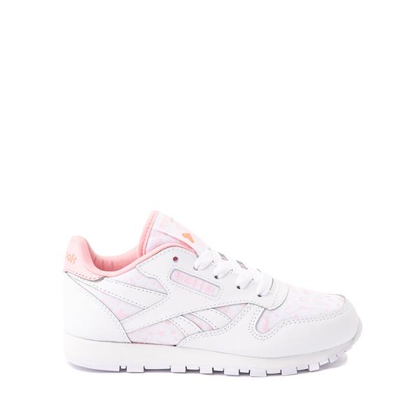Reebok Classic Athletic Shoe - Little Kid - White / Pink