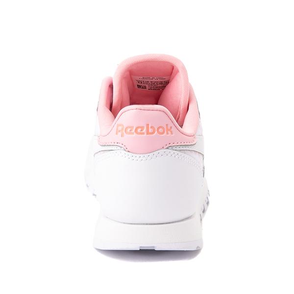 alternate view Reebok Classic Athletic Shoe - Little Kid - White / PinkALT4