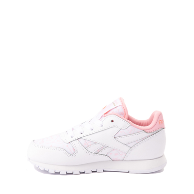 Alternate view of Reebok Classic Athletic Shoe - Little Kid - White / Pink
