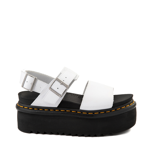 Main view of Womens Dr. Martens Voss Platform Sandal - White