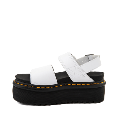 Alternate view of Womens Dr. Martens Voss Platform Sandal - White