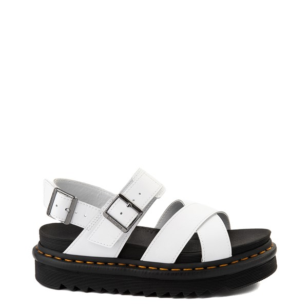 Main view of Womens Dr. Martens Voss II Sandal - White