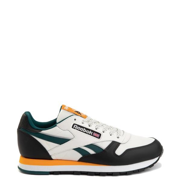 Mens Reebok Classic Leather Athletic Shoe - Tan / Black