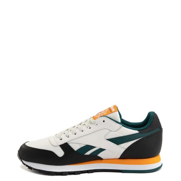 alternate view Mens Reebok Classic Leather Athletic Shoe - Tan / BlackALT1B