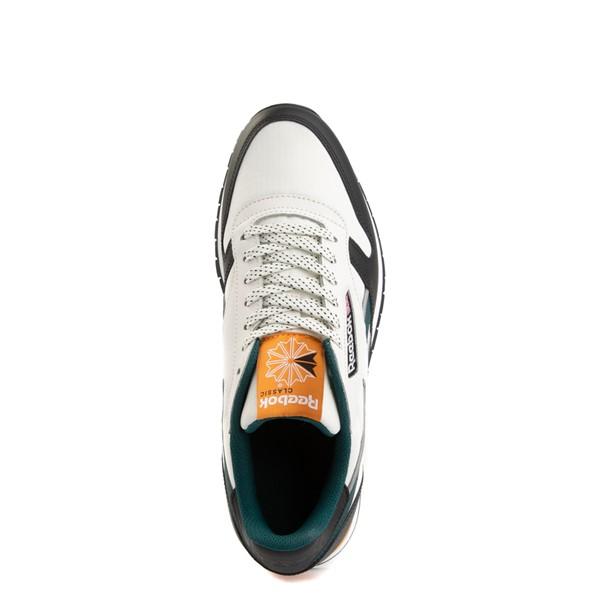 alternate view Mens Reebok Classic Leather Athletic Shoe - Tan / BlackALT2