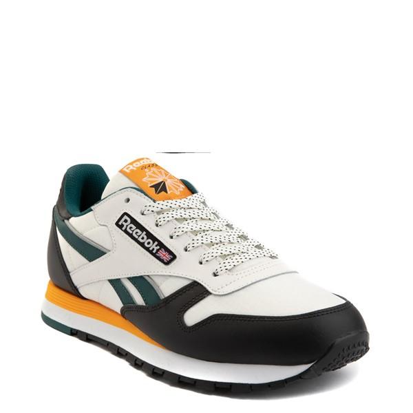alternate view Mens Reebok Classic Leather Athletic Shoe - Tan / BlackALT5