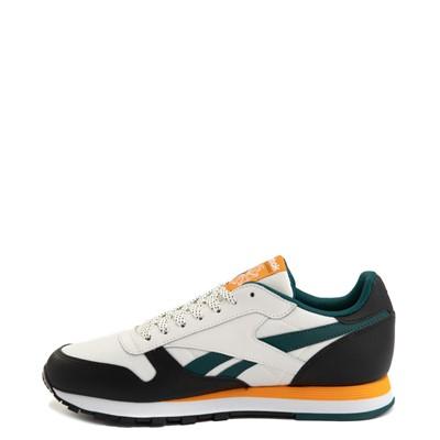 Alternate view of Mens Reebok Classic Leather Athletic Shoe - Tan / Black