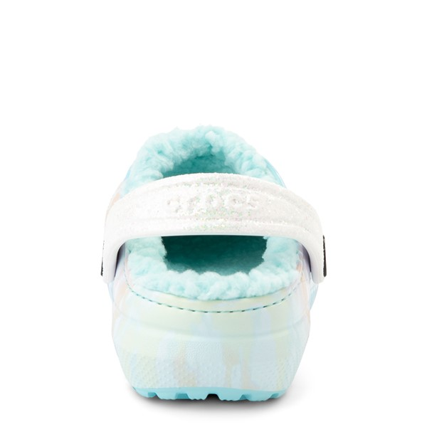 alternate view Crocs Classic Fuzz-Lined Out Of This World Clog - Baby / Toddler / Little Kid - Tie Dye SkyALT4