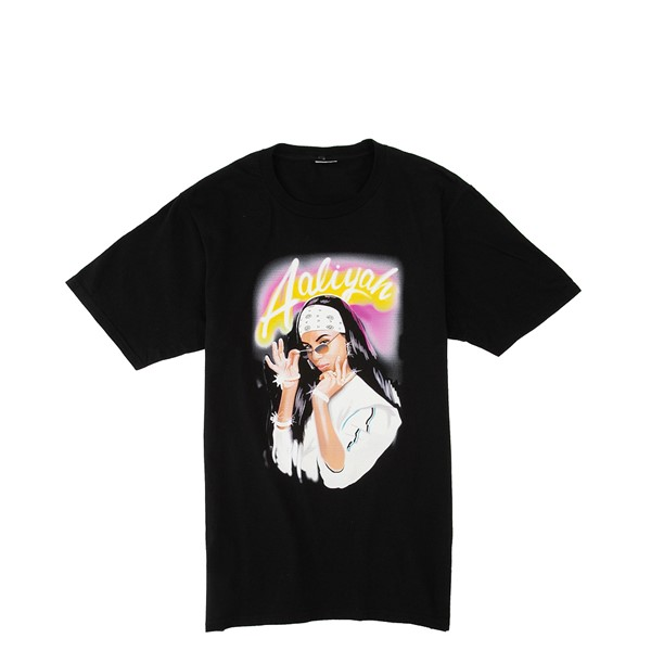 alternate view Womens Aaliyah Boyfriend Tee - BlackALT2