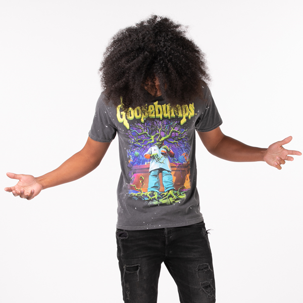 Main view of Mens Goosebumps Tee - Black