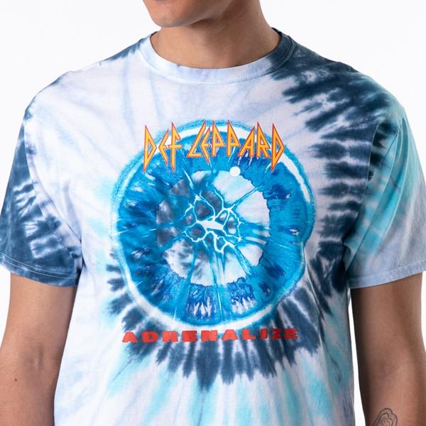 alternate view Mens Def Leppard Adrenalize Tee - Blue Tie DyeALT1B