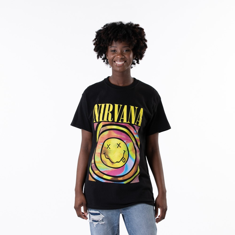 Womens Nirvana Tee - Black
