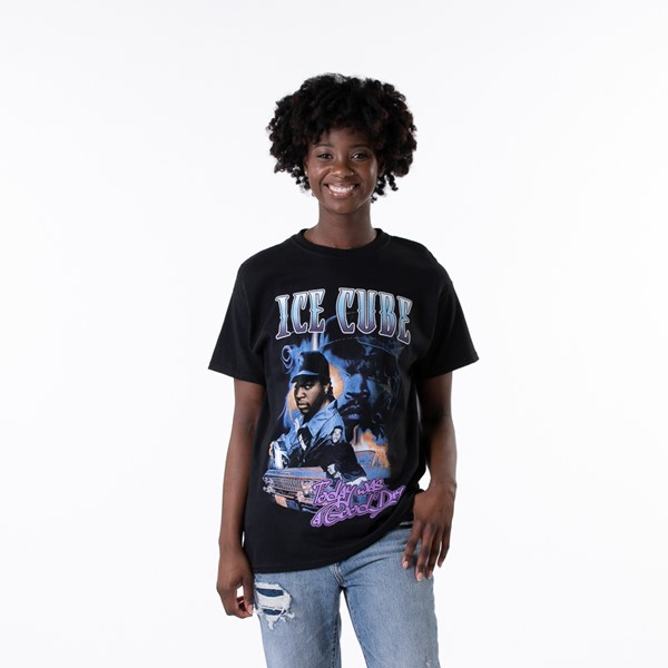 Main view of Womens Ice Cube Tee - Black
