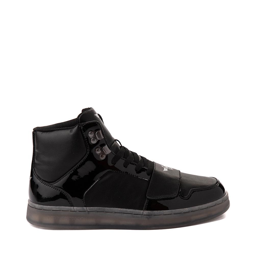 Mens Creative Recreation Cesario Hi XXI Sneaker - Black