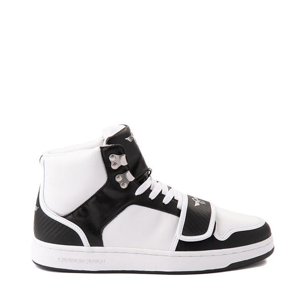 Main view of Mens Creative Recreation Cesario Hi XXI Sneaker - White / Black