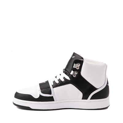 Alternate view of Mens Creative Recreation Cesario Hi XXI Sneaker - White / Black