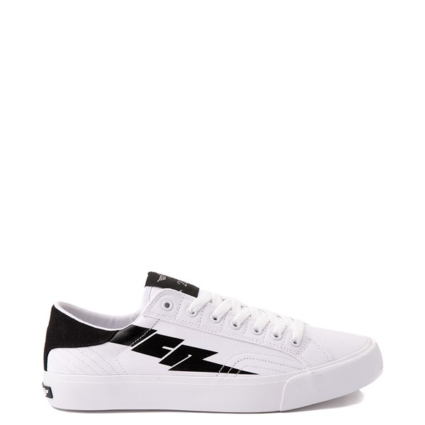 Main view of Mens Creative Recreation Zeus Lo Sneaker - White / Black