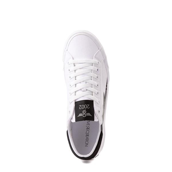 alternate view Mens Creative Recreation Zeus Lo Sneaker - White / BlackALT2