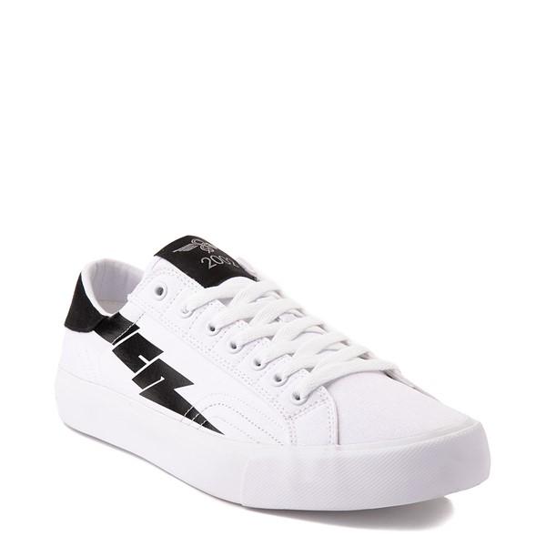 alternate view Mens Creative Recreation Zeus Lo Sneaker - White / BlackALT5