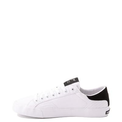 Alternate view of Mens Creative Recreation Zeus Lo Sneaker - White / Black