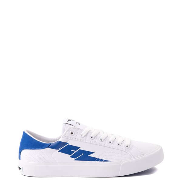 Main view of Mens Creative Recreation Zeus Lo Sneaker - White / Blue