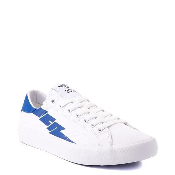 alternate view Mens Creative Recreation Zeus Lo Sneaker - White / BlueALT5